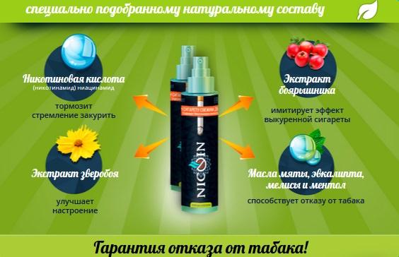 спрей никотин инструкция