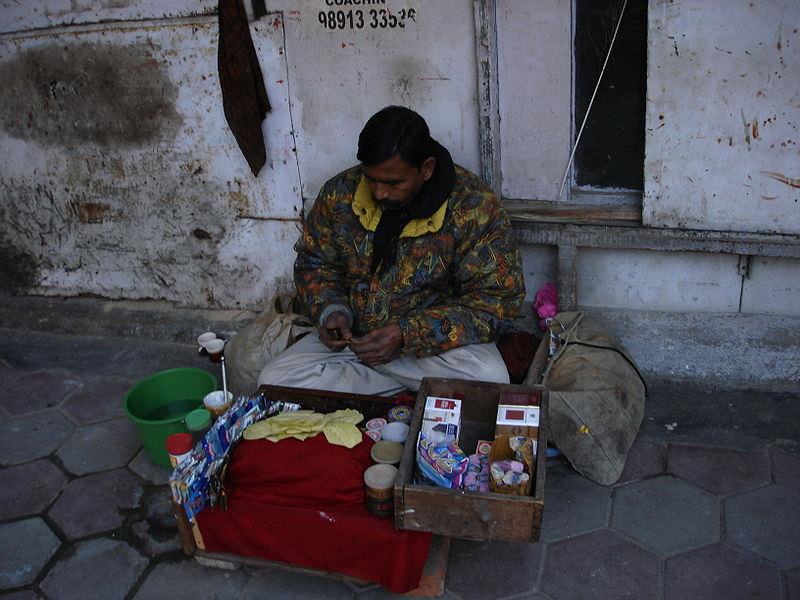 Продавец Бетеля в Дели