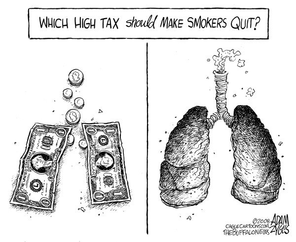 Which high tax should make smokers quit?