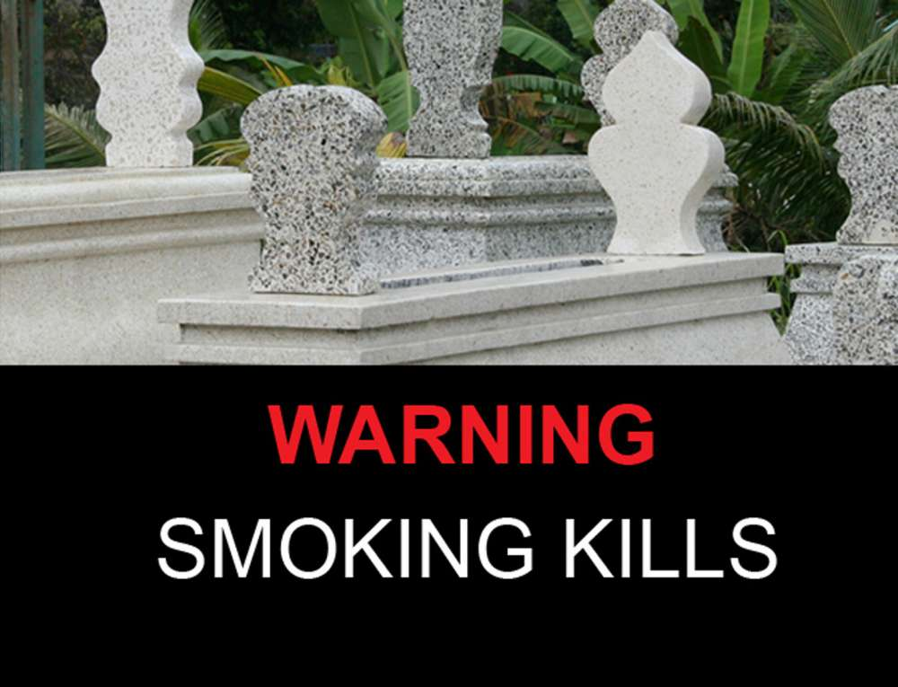 Warning! Smoking kills!