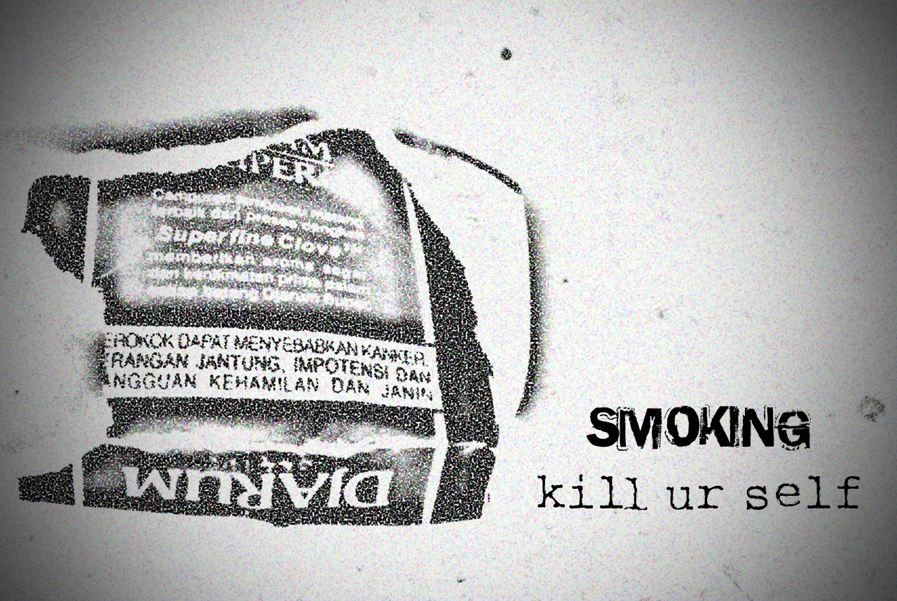 Smoking kill ur self