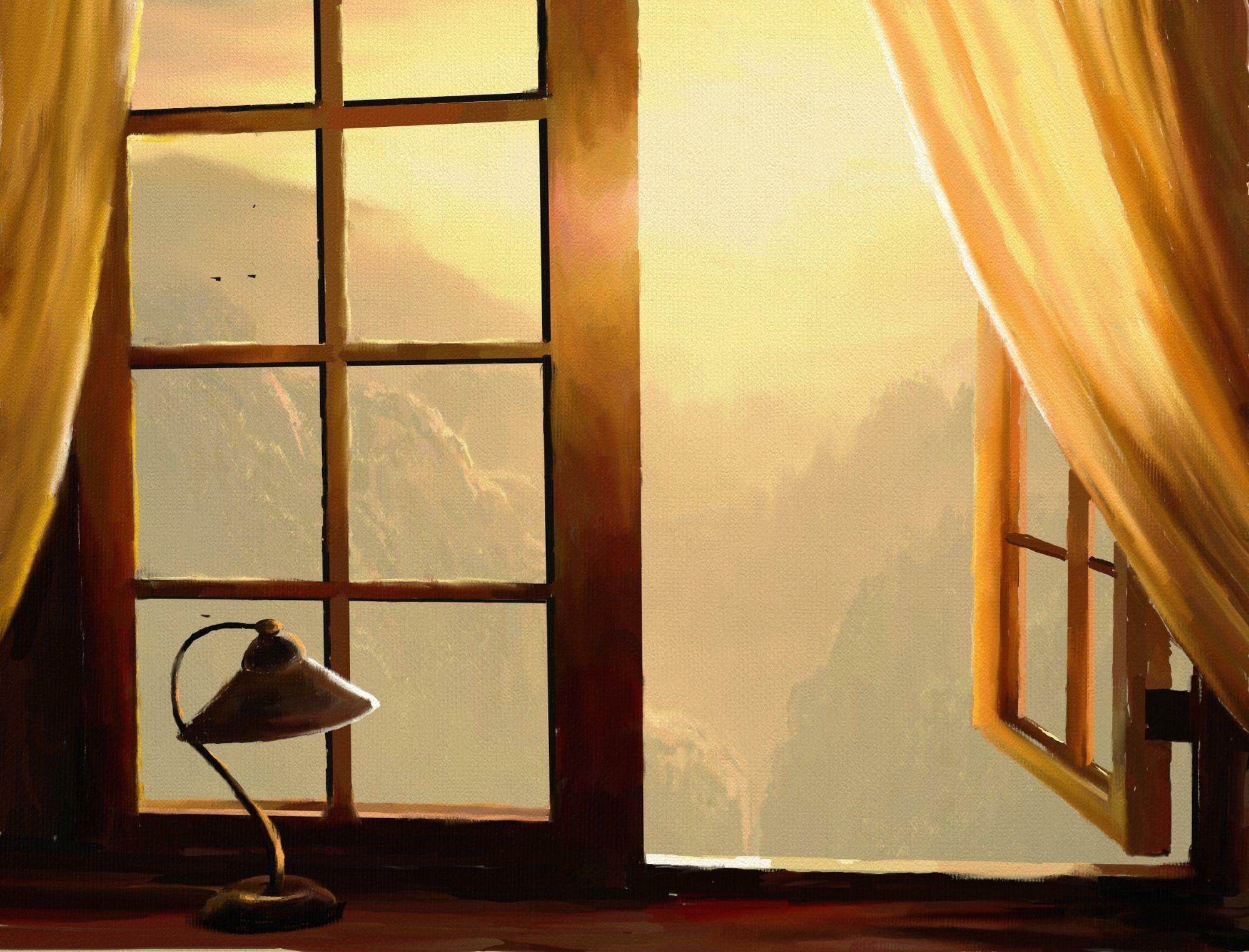 Картинка в окне, петербургский алфавит дети