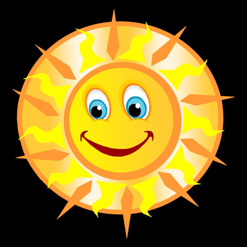 живая картинка солнышко на прозрачном фоне третьем