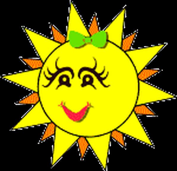 Днем, анимация картинка солнышко