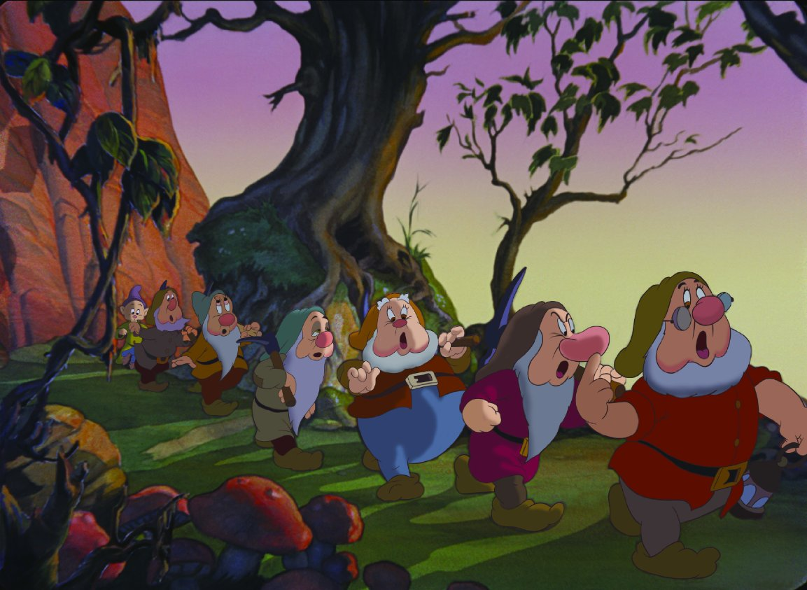 Белоснежка и семь гномов картинки из мультфильма, днем рождения вратарю