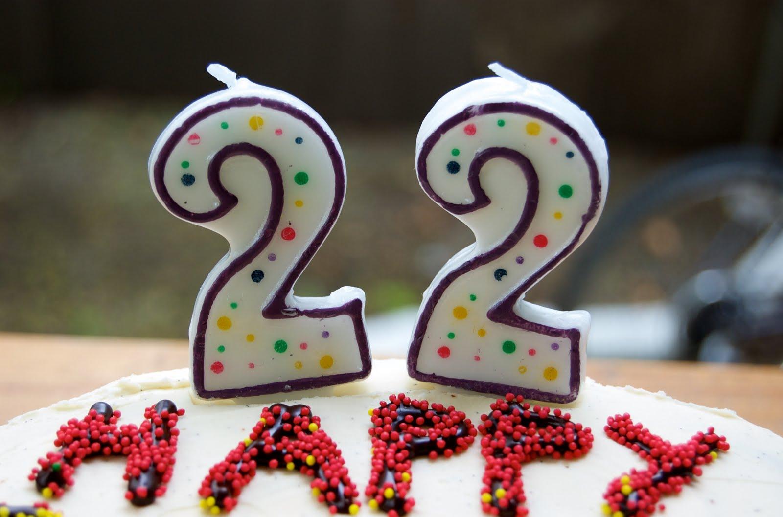 Поздравление на 22 летие девушке