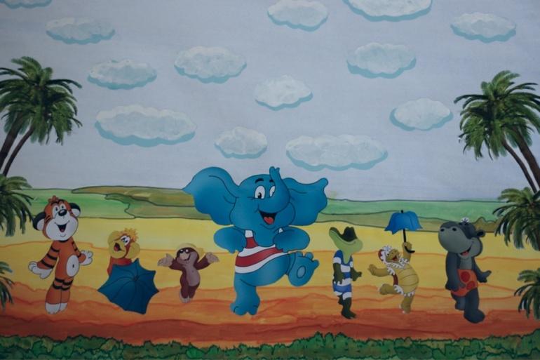 Картинки из мультика по дороге с облаками для детей