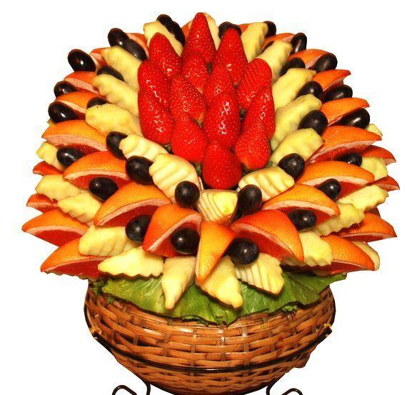 Вазы из фруктов своими руками