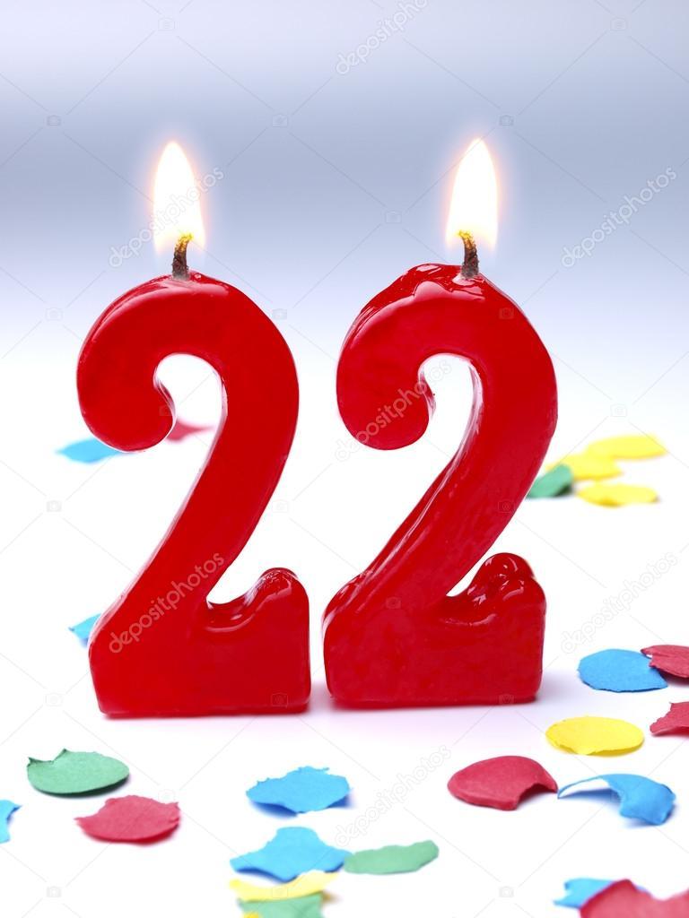 Поздравление на день рождение любимому-22 года