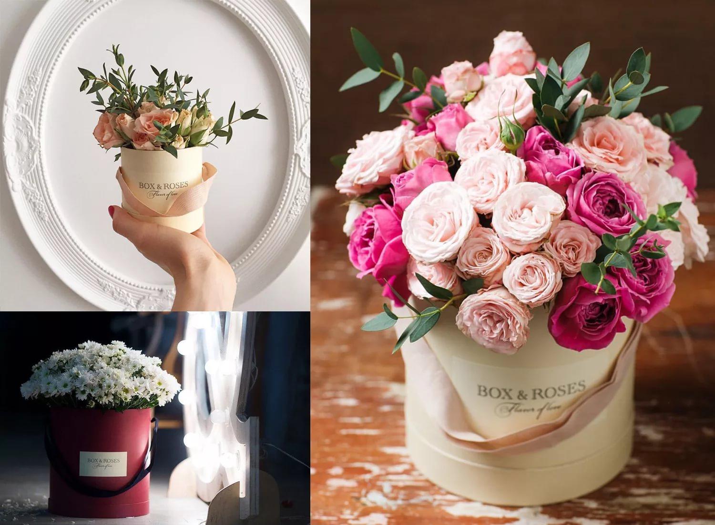 Букета, как составить цветочный букет в коробке своими руками