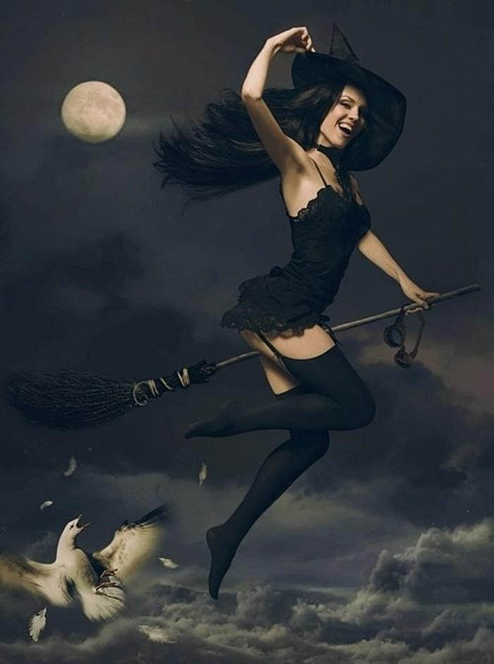 Прикольные картинки ведьма с метлой, картинки надписями измене