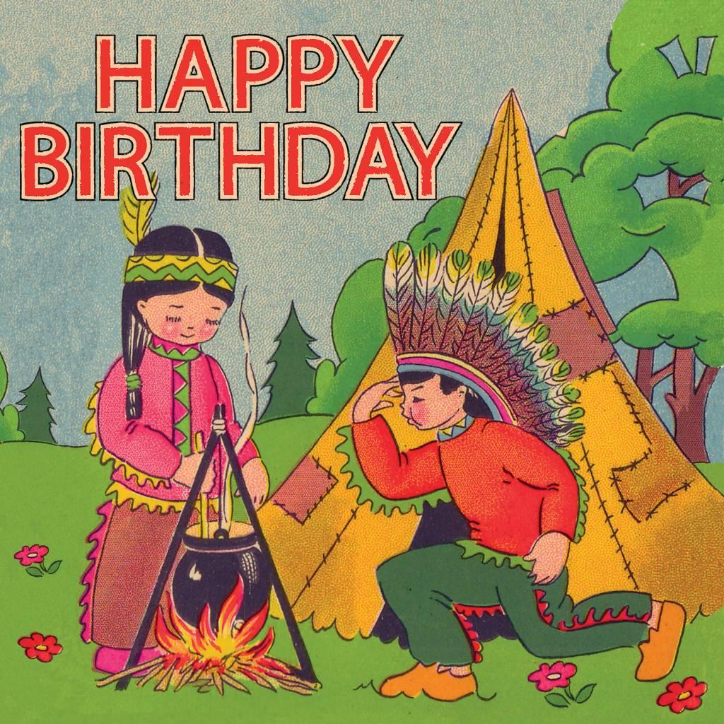 сестру открытка приглашение с индейцами проблемы