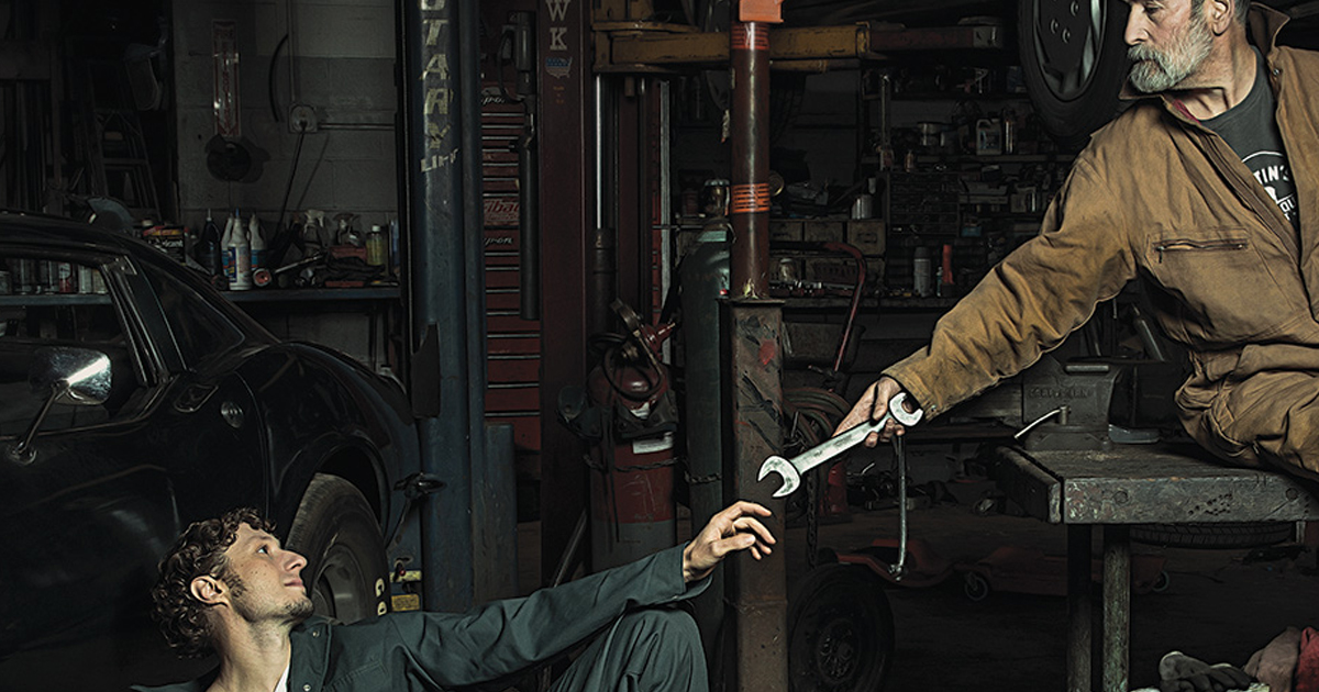 Смешные фото про механиков
