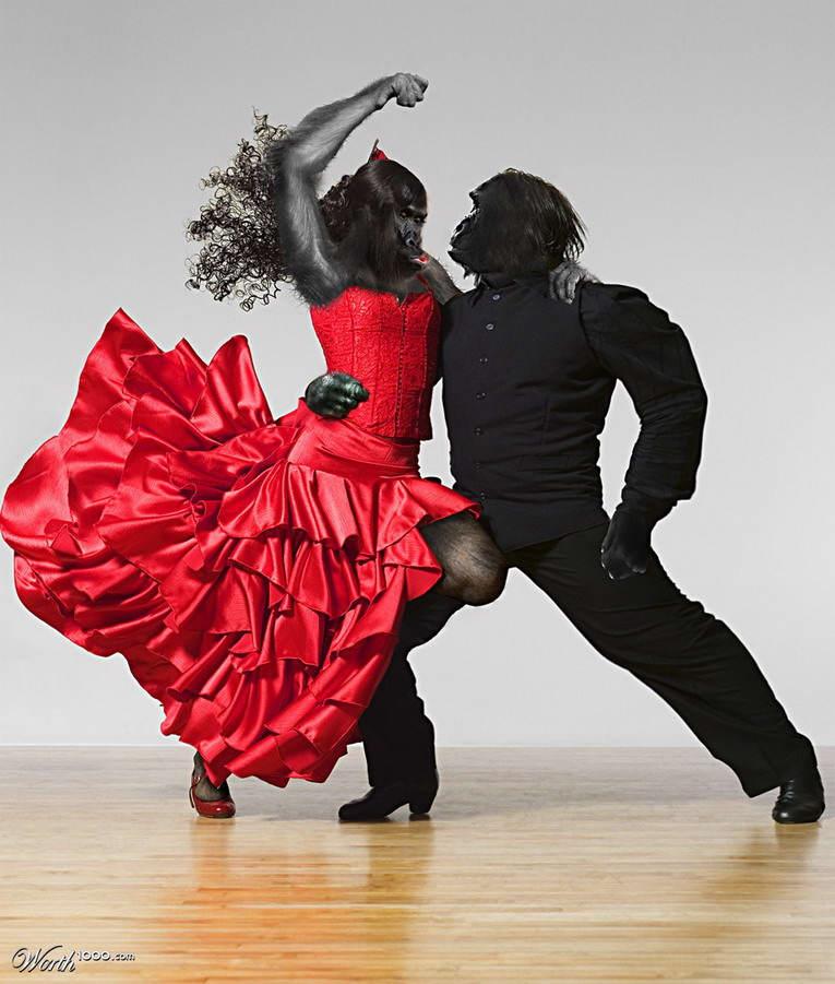 Танец картинки прикольные