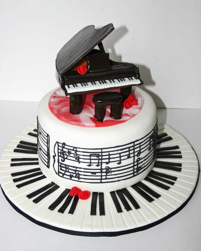 Картинки анимации, картинка с днем рождения с роялем