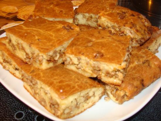 Пироги на кефире рецепт с фото с начинкой