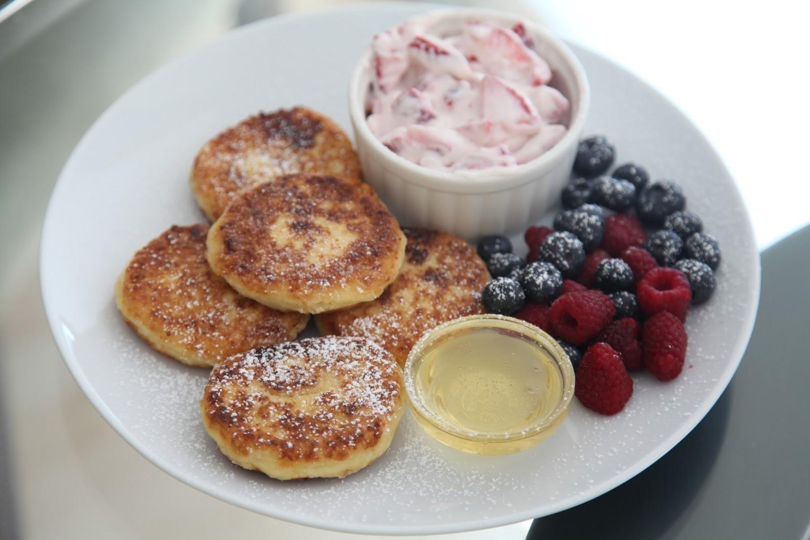 Завтрак из творога диета