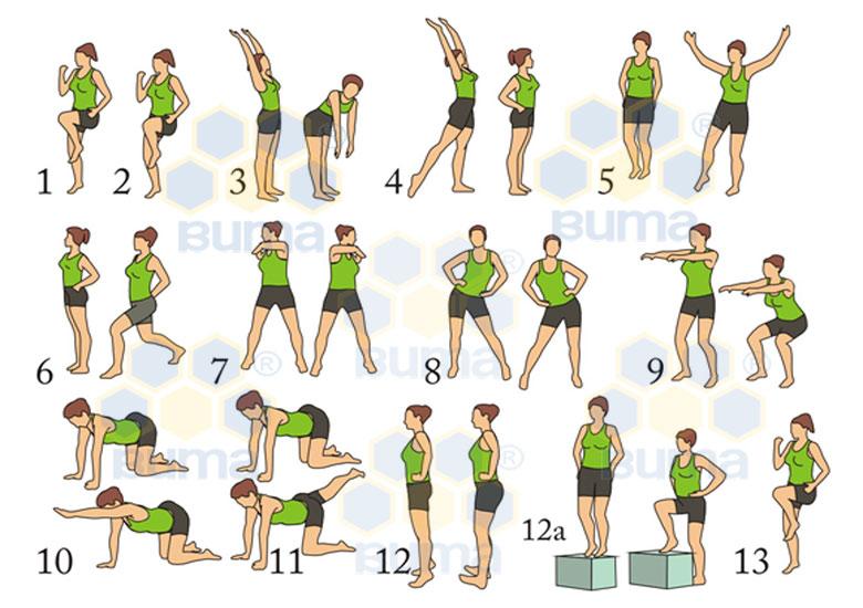 Упражнения для похудения подростка видео