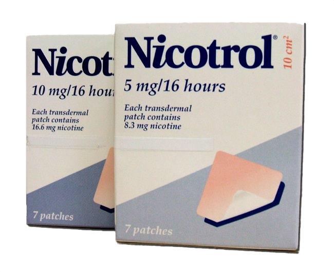 Никотиновый пластырь Никотрол