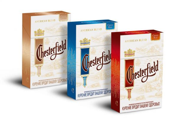 Сигареты Chesterfield, Честерфилд