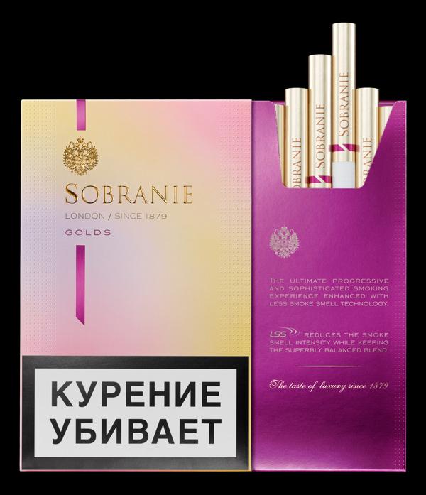 Сигареты Sobranie (Собрание)