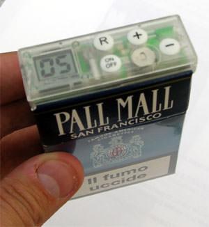 Счетчик сигарет