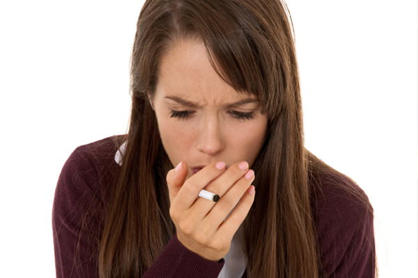 Сухой кашель от курения