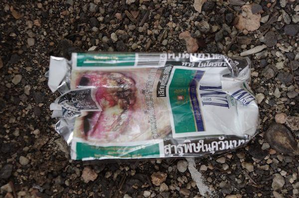 Пачка тайских сигарет