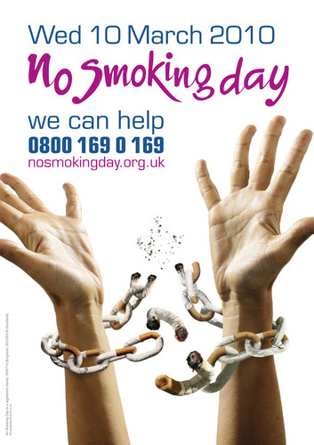 No smoking day Wed 10 March 2010