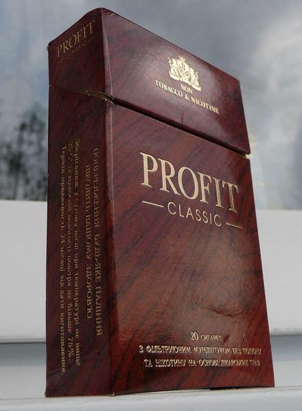 Сигареты от курения Профит
