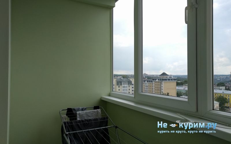 Борьба с курильщиками на балконе